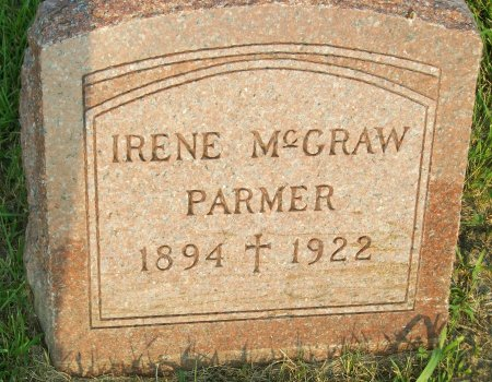 MCGRAW PARMER, IRENE - Plymouth County, Iowa | IRENE MCGRAW PARMER