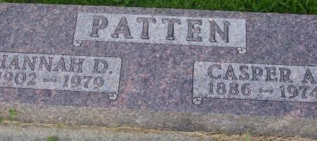 PATTEN, CASPER A. - Plymouth County, Iowa | CASPER A. PATTEN