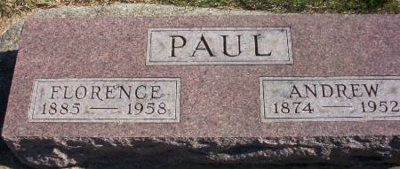 PAUL, FLORENCE - Plymouth County, Iowa | FLORENCE PAUL