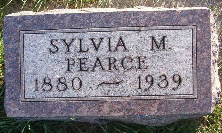 PEARCE, SYLVIA M. - Plymouth County, Iowa | SYLVIA M. PEARCE
