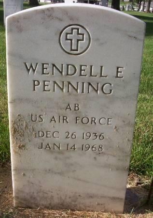 PENNING, WENDELL EUGENE - Plymouth County, Iowa | WENDELL EUGENE PENNING