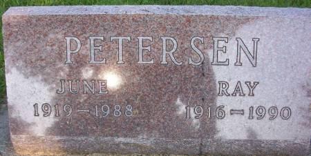 PETERSEN, RAY - Plymouth County, Iowa | RAY PETERSEN