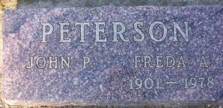 PETERSON, JOHN P. - Plymouth County, Iowa | JOHN P. PETERSON