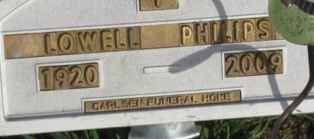 PHILIPS, LOWELL EDWARD - Plymouth County, Iowa | LOWELL EDWARD PHILIPS