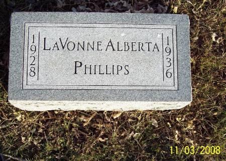 PHILLIPS, LAVONNE ALBERTA - Plymouth County, Iowa | LAVONNE ALBERTA PHILLIPS