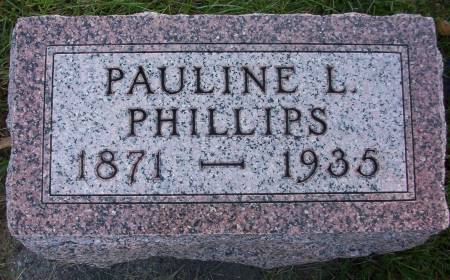 PHILLIPS, PAULINE L. - Plymouth County, Iowa | PAULINE L. PHILLIPS