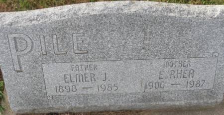 PILE, ELMER J. - Plymouth County, Iowa | ELMER J. PILE