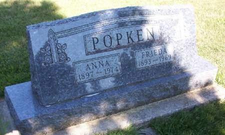 POPKEN, ANNA - Plymouth County, Iowa | ANNA POPKEN