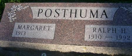 POSTHUMA, RALPH H. - Plymouth County, Iowa   RALPH H. POSTHUMA
