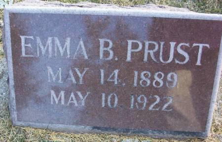 PRUST, EMMA BERTHA - Plymouth County, Iowa | EMMA BERTHA PRUST