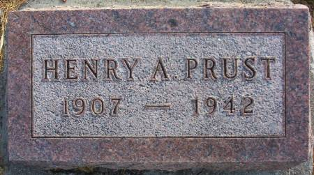 PRUST, HENRY A. - Plymouth County, Iowa   HENRY A. PRUST