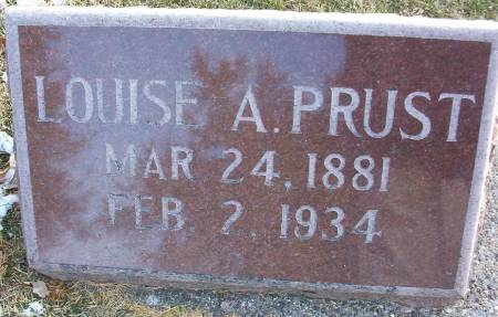 PRUST, LOUISE A. - Plymouth County, Iowa | LOUISE A. PRUST
