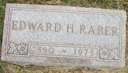 RABER, EDWARD H. - Plymouth County, Iowa   EDWARD H. RABER