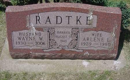 RADTKE, WAYNE W. - Plymouth County, Iowa | WAYNE W. RADTKE