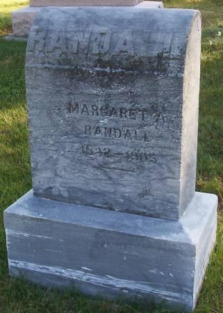RANDALL, MARGARET A. - Plymouth County, Iowa   MARGARET A. RANDALL