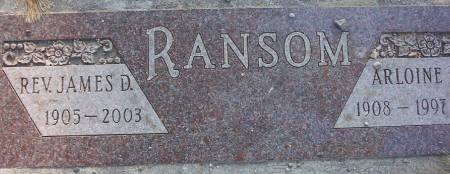 RANSOM, JAMES DENNY (REV.) - Plymouth County, Iowa | JAMES DENNY (REV.) RANSOM