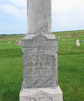REA, CATHERINE - Plymouth County, Iowa | CATHERINE REA