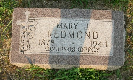 REDMOND, MARY J. - Plymouth County, Iowa | MARY J. REDMOND