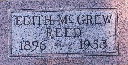 MCGREW REED, EDITH - Plymouth County, Iowa | EDITH MCGREW REED
