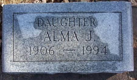 REELFS, ALMA J. - Plymouth County, Iowa | ALMA J. REELFS