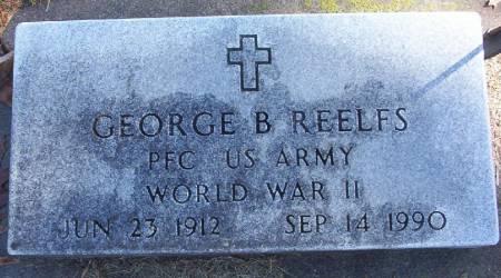 REELFS, GEORGE B. - Plymouth County, Iowa | GEORGE B. REELFS