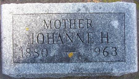 REELFS, JOHANNE H. - Plymouth County, Iowa   JOHANNE H. REELFS