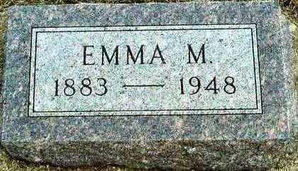 REES, EMMA MATHILDA - Plymouth County, Iowa | EMMA MATHILDA REES