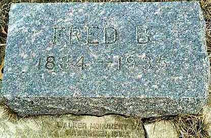 REES, FRED BOUND - Plymouth County, Iowa | FRED BOUND REES