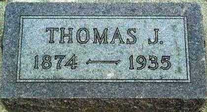 REES, THOMAS J. - Plymouth County, Iowa | THOMAS J. REES