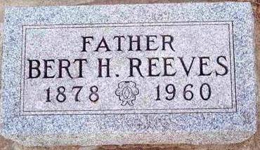 REEVES, BERT - Plymouth County, Iowa   BERT REEVES
