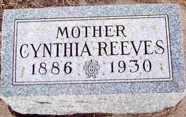 REEVES, CYNTHIA - Plymouth County, Iowa | CYNTHIA REEVES