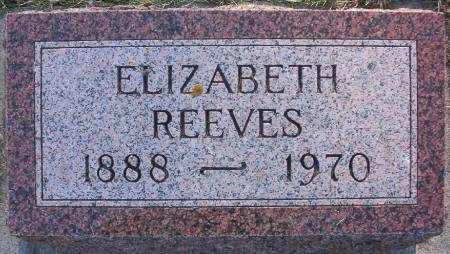 DEMPSTER REEVES, ELIZABETH F. - Plymouth County, Iowa | ELIZABETH F. DEMPSTER REEVES