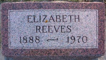 REEVES, ELIZABETH F. - Plymouth County, Iowa | ELIZABETH F. REEVES