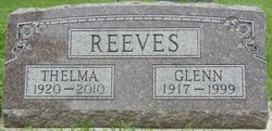 REEVES, THELMA - Plymouth County, Iowa | THELMA REEVES