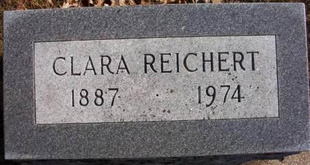 REICHERT, CLARA - Plymouth County, Iowa | CLARA REICHERT