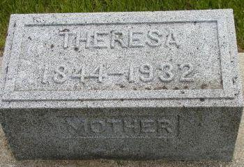 REICHMANN, THERESA - Plymouth County, Iowa | THERESA REICHMANN