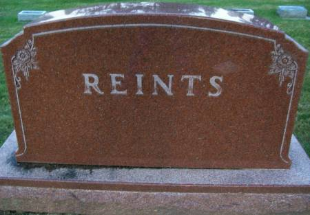 REINTS, HULDA - Plymouth County, Iowa | HULDA REINTS