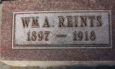 REINTS, WILLIAM A. - Plymouth County, Iowa | WILLIAM A. REINTS