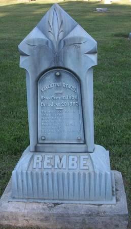 REMBE, ANNA - Plymouth County, Iowa | ANNA REMBE
