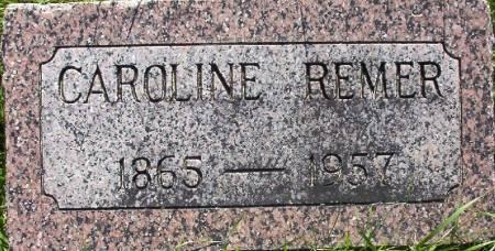 REMER, CAROLINE - Plymouth County, Iowa | CAROLINE REMER