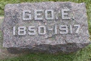 RICHARDSON, GEORGE E - Plymouth County, Iowa | GEORGE E RICHARDSON