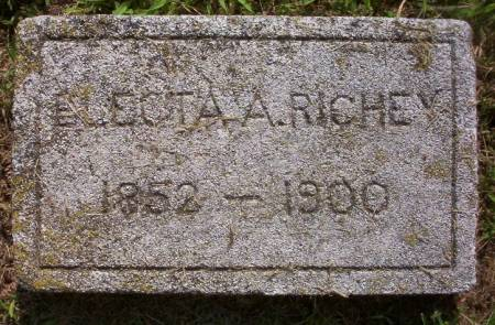 RICHEY, ELECTA A. - Plymouth County, Iowa | ELECTA A. RICHEY