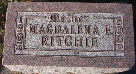 RITCHIE, MAGDALENA - Plymouth County, Iowa | MAGDALENA RITCHIE