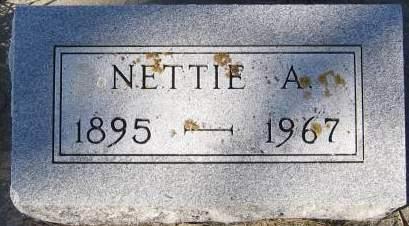 ROBERTSON, NETTIE A. - Plymouth County, Iowa | NETTIE A. ROBERTSON