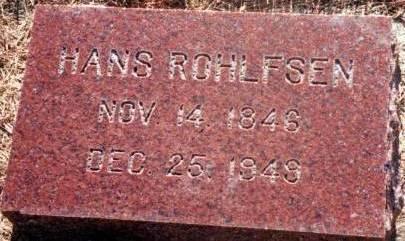 ROHLFSEN, HANS - Plymouth County, Iowa | HANS ROHLFSEN