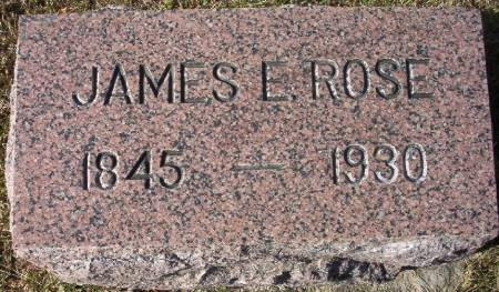 ROSE, JAMES E. - Plymouth County, Iowa   JAMES E. ROSE