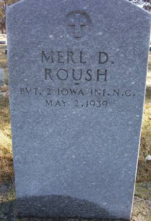 ROUSH, MERL D. - Plymouth County, Iowa | MERL D. ROUSH