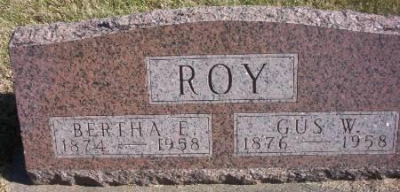 ROY, GUS W. - Plymouth County, Iowa | GUS W. ROY