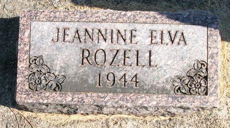 ROZELL, JEANNINE ELVA - Plymouth County, Iowa | JEANNINE ELVA ROZELL
