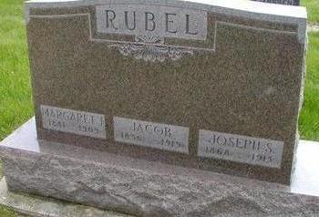 RUBEL, MARGARET J - Plymouth County, Iowa | MARGARET J RUBEL